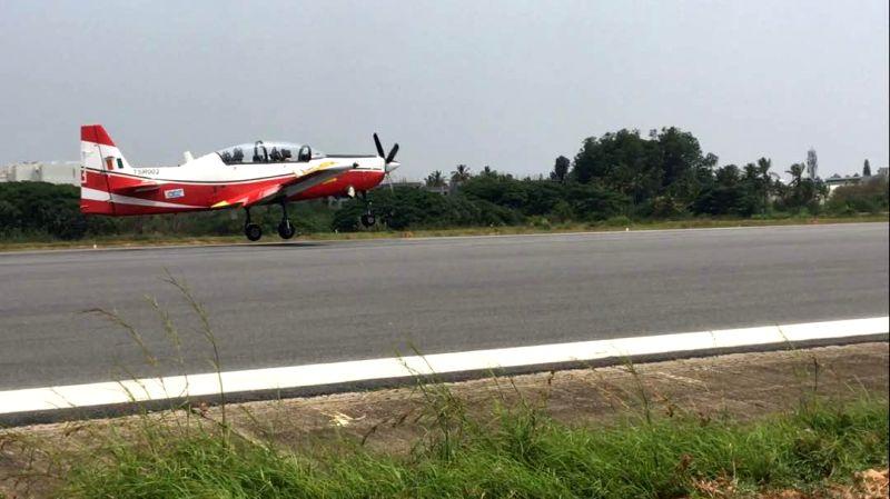 HAL basic trainer's second prototype makes maiden flight