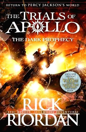 The second rip-roaring but uproarious installment of Rick Riordan\'s Apollo series featuring the Greek god transformed into moral and sent on a quest