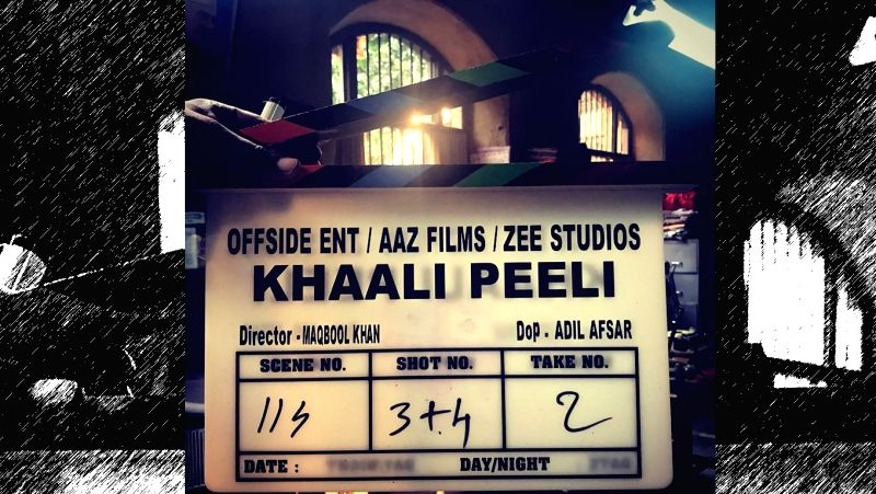 "The shooting for first-time director Maqbool Khan's ""Khaali Peeli"" starring Ishaan Khatter and Ananya Panday has begun."