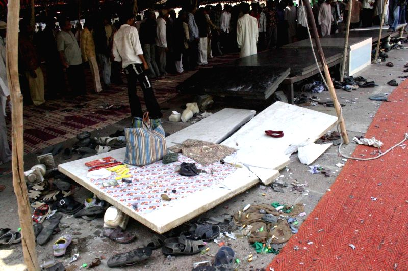 The site of explosion that took place during Friday prayers  on on 18th May, 2007 near the iconic Charminar of Hyderabad killing nine people and injuring over 50 others. The explosion ...