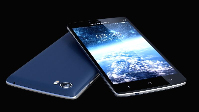 The smartphone features a 5-inch HD IPS screen and scratch resistant DragontrailX Glass.