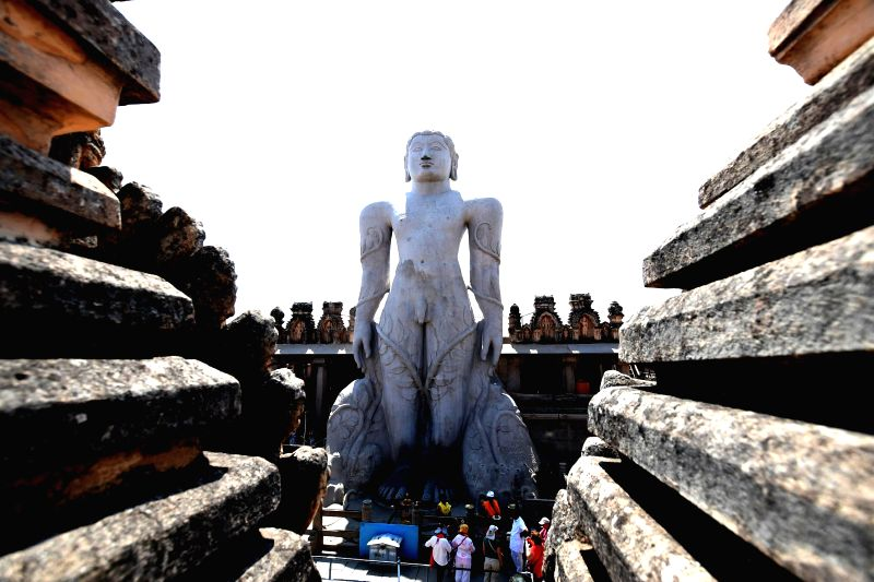 The statue of monolithic statue of Lord Bahubali Mahamastakabhisheka of which is scheduled to be held in February 2018 at Shravanabelagola of Karnataka. Mahamastakabhisheka or the head ...