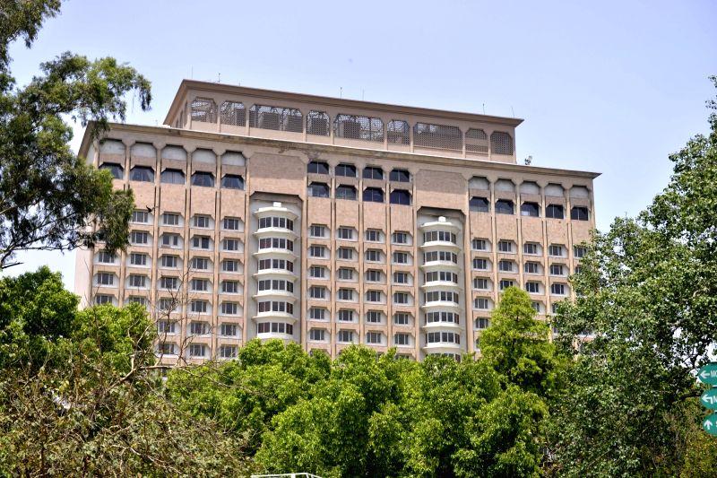 The Taj Mahal Hotel in Mansingh Road Road of New Delhi. (File Photo: IANS)
