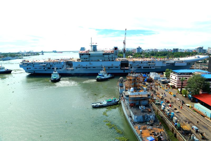 The theft discovered from India's first indigenously developed under-construction aircraft carrier in Kochi may not result in strategic threats, defence officials said here on Wednesday, even as Kerala police handed over investigation of the case to