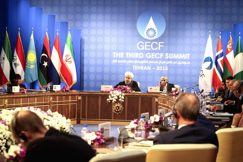 The third summit of the Gas Exporting Countries Forum (GECF) is held in Tehran, Iran, on Nov. 23, 2015. The GECF is a gathering of the world's leading gas producers ...