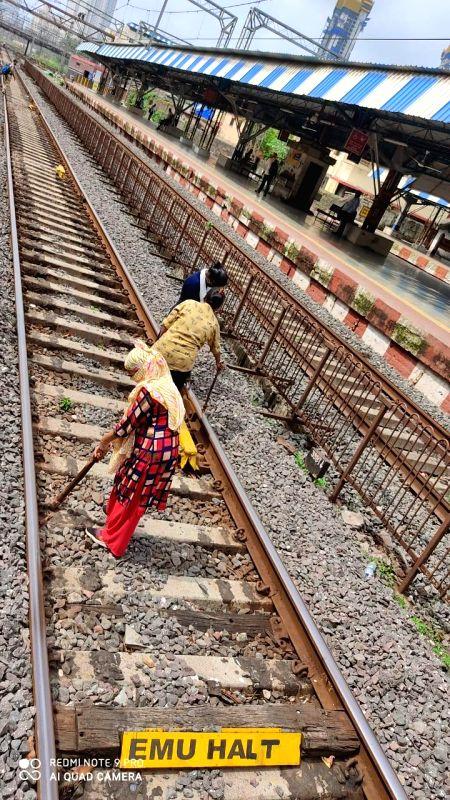 These CR women 'steer' Mumbai suburban trains in Covid times.
