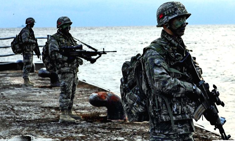 South Korea Launches Military Drills on Disputed Liancourt Rocks Islands