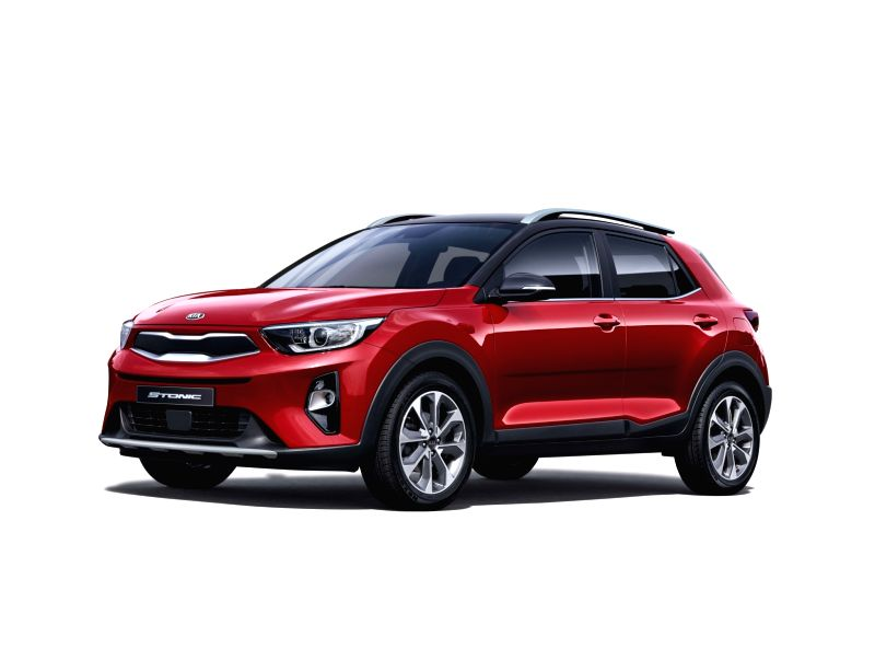 This photo, released by Kia Motors Corp. on Aug 6, 2018, shows the souped-up and upgraded version of the automaker's Stonic subcompact SUV that hit showrooms the same day.