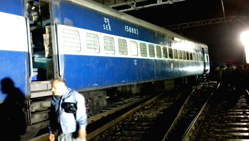 Three coaches of the Mumbai-Howrah Mail train derailed near Igatpuri in Maharashtra on June 10, 2018. No passenger was injured in the accident.