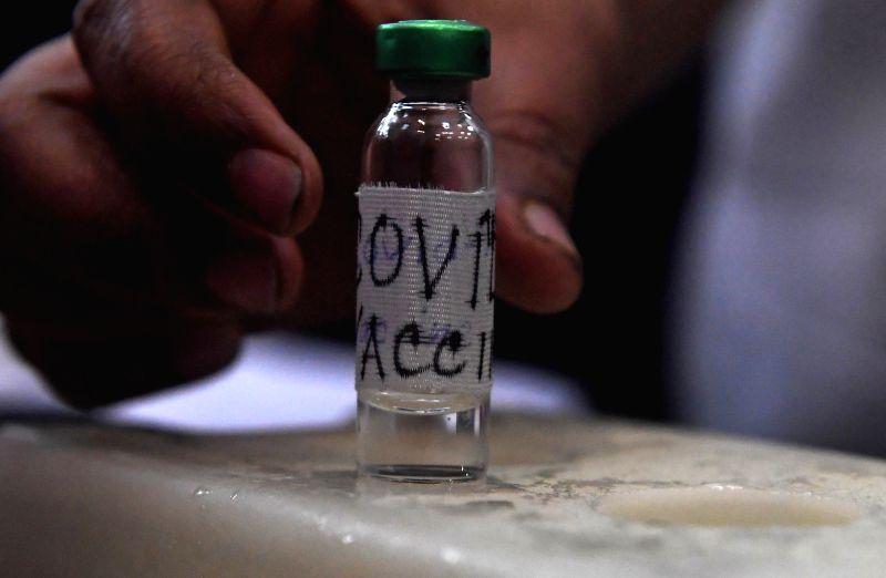 Tibetans in Austria, Switzerland contribute for Covid-19 vaccine (File Photo: Kuntal Chakrabarty/IANS)