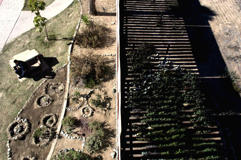 Tijuana (Mexico): The border between Mexico and the United States is seen in the Friendship Park area in Tijuana city, northwest Mexico, on Nov. 26, 2014. The executive action on the immigration ...