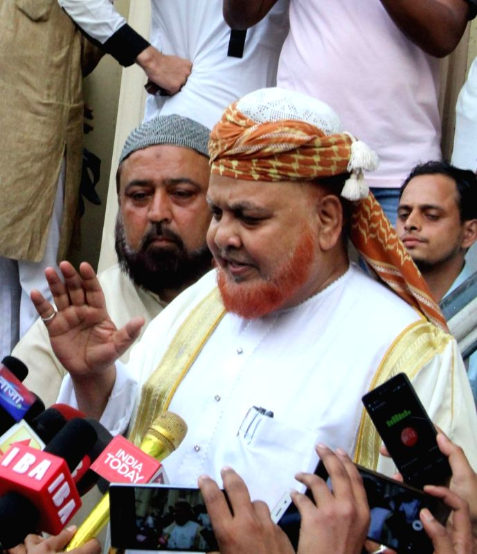 Tipu Sultan Mosque's controversial Imam Maulana Noor-ur Rehman Barkati, who had threatened 'jihad' if India was declared a Hindu Rashtra and refused to remove the red beacon from his ...