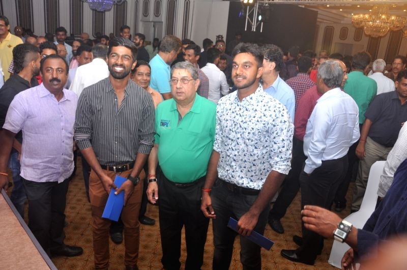 Tamil Nadu team felicitated for winning Vijay Hazare and Deodhar trophies