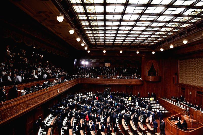 JAPAN-TOKYO-LOWER HOUSE-DISSOLUTION - Shinzo Abe