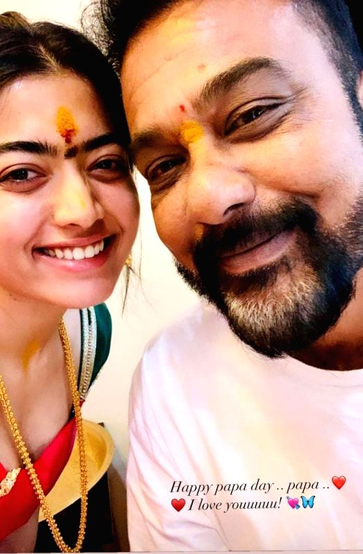 Tollywood stars pour love for their fathers on Fathers Day.
