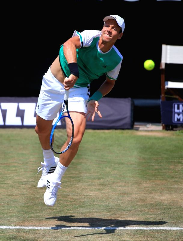 Tomas Berdych. (Image Source: IANS)