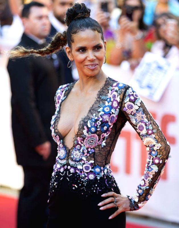 """TORONTO, Sep. 14, 2017 - Actress Halle Berry attends the world premiere of the film """"Kings"""" at Roy Thomson Hall during the 2017 Toronto International Film Festival in Toronto, Canada, Sept. ... - Halle Berry"""