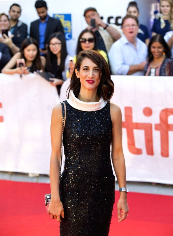 """TORONTO, Sep. 14, 2017 - Director Deniz Gamze Erguven attends the world premiere of the film """"Kings"""" at Roy Thomson Hall during the 2017 Toronto International Film Festival in Toronto, ..."""