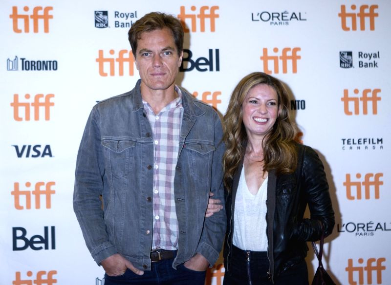 "TORONTO, Sept. 10, 2017 - Actor Michael Shannon (L) and Kate Arrington attend the premiere of the film ""The Current War"" at Princess of Wales Theatre during the 2017 Toronto International ... - Michael Shannon"