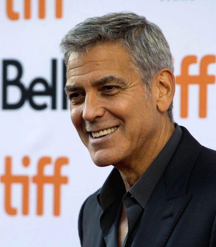 """TORONTO, Sept. 10, 2017 - George Clooney attends the North American premiere of the film """"Suburbicon"""" at Princess of Wales Theatre during the 2017 Toronto International Film Festival in ..."""