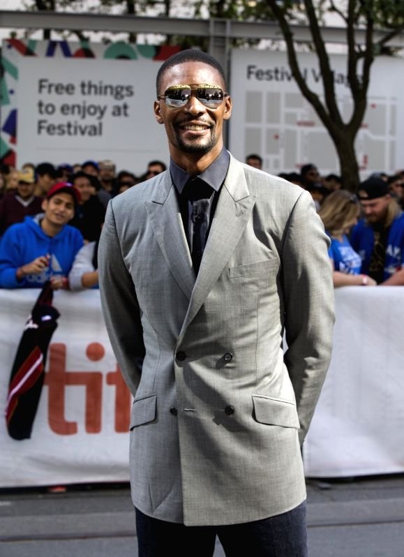 "TORONTO, Sept. 10, 2017 - NBA player Chris Bosh attends the world premiere of the documentary ""The Carter Effect"" at Princess of Wales Theatre during the 2017 Toronto International Film ..."