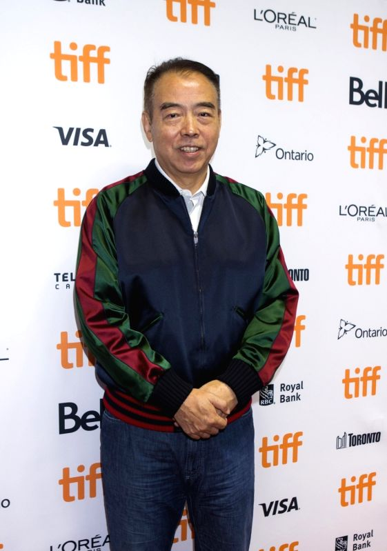 "TORONTO, Sept. 11, 2017 - Director Chen Kaige attends the sneak peek of his new film ""Legend of the Demon Cat"" at the 2017 Toronto International Film Festival in Toronto, Canada, Sept. 10, ..."