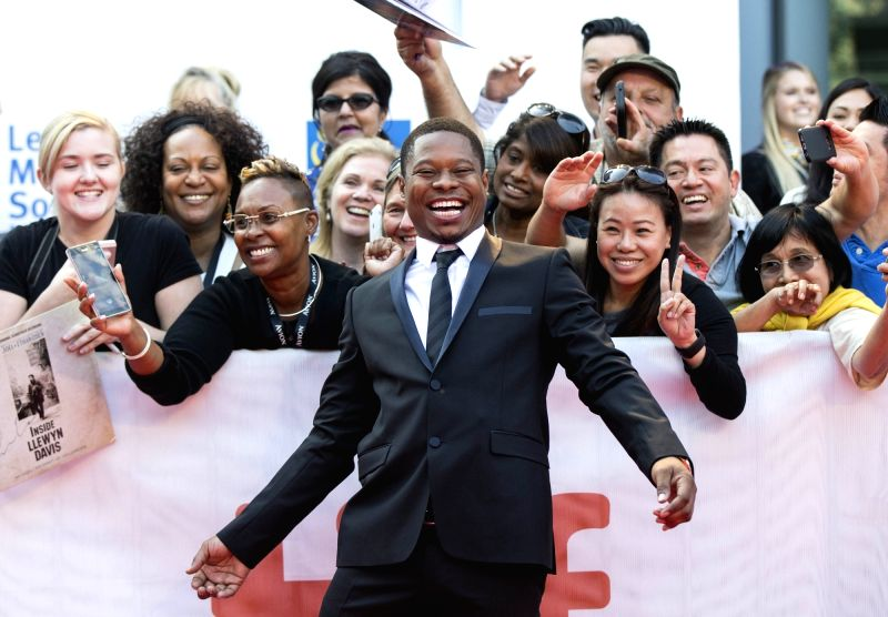 """TORONTO, Sept. 13, 2017 - Actor Jason Mitchell poses for photographs at the international premiere of the film """"Mudbound"""" at Roy Thomson Hall during the 2017 Toronto International Film ... - Jason Mitchell"""