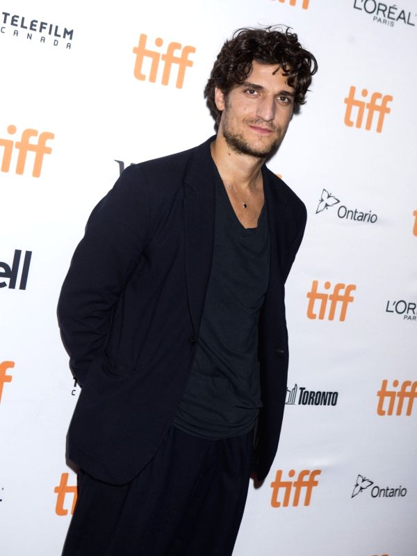 """TORONTO, Sept. 15, 2017 - Actor Louis Garrel poses for photographs at the North American premiere of the film """"Redoubtable"""" at Elgin Theatre during the 2017 Toronto International Film ... - Louis Garrel"""