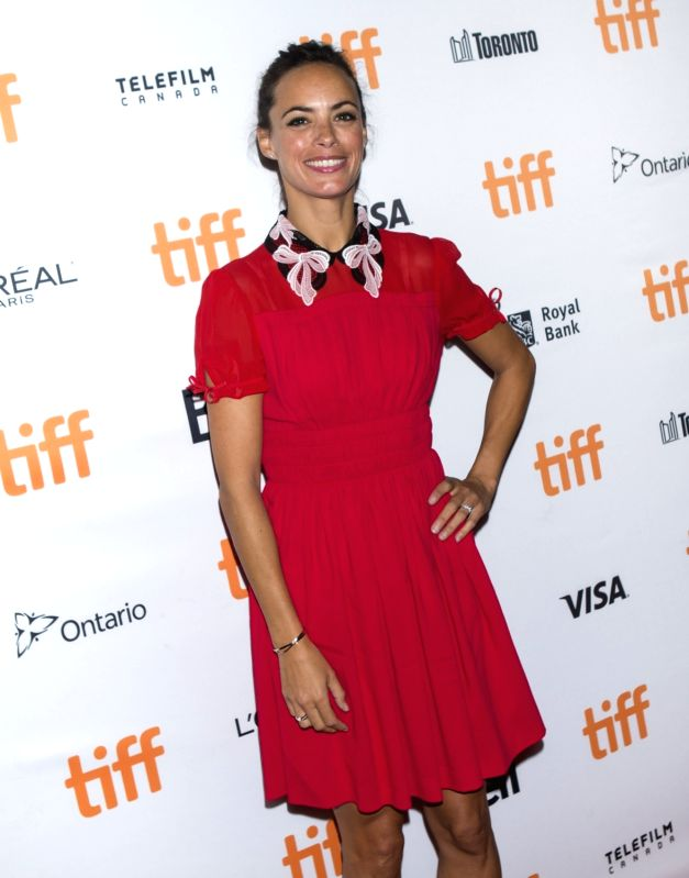 """TORONTO, Sept. 15, 2017 - Actress Berenice Bejo poses for photographs at the North American premiere of the film """"Redoubtable"""" at Elgin Theatre during the 2017 Toronto International Film ... - Berenice Bejo"""