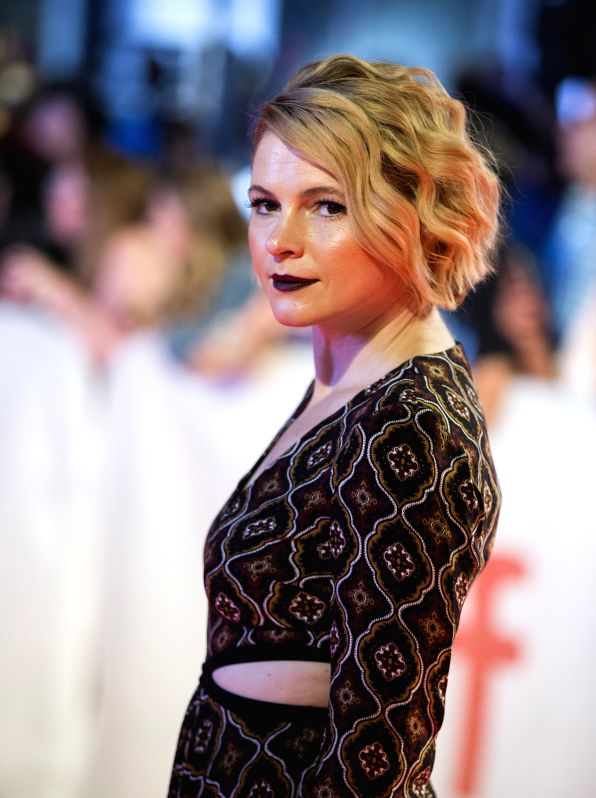 "TORONTO, Sept. 16, 2017 - Actress Amy Seimetz attends the world premiere of the film ""My Days of Mercy"" at Roy Thomson Hall during the 2017 Toronto International Film Festival in Toronto, ... - Amy Seimetz"