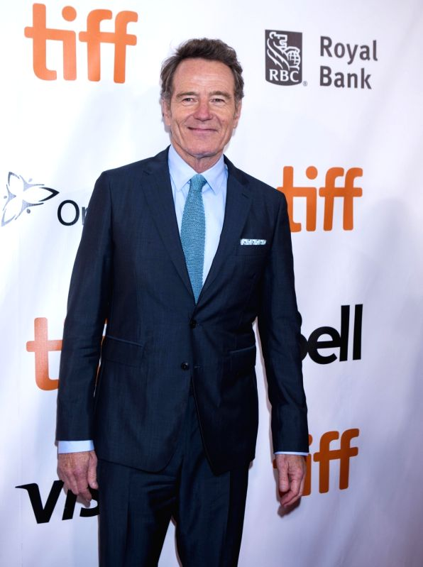 """TORONTO, Sept. 9, 2017 - Actor Bryan Cranston attends the world premiere of the film """"The Upside"""" during the 2017 Toronto International Film Festival in Toronto, Canada, Sept. 8, 2017. - Bryan Cranston"""