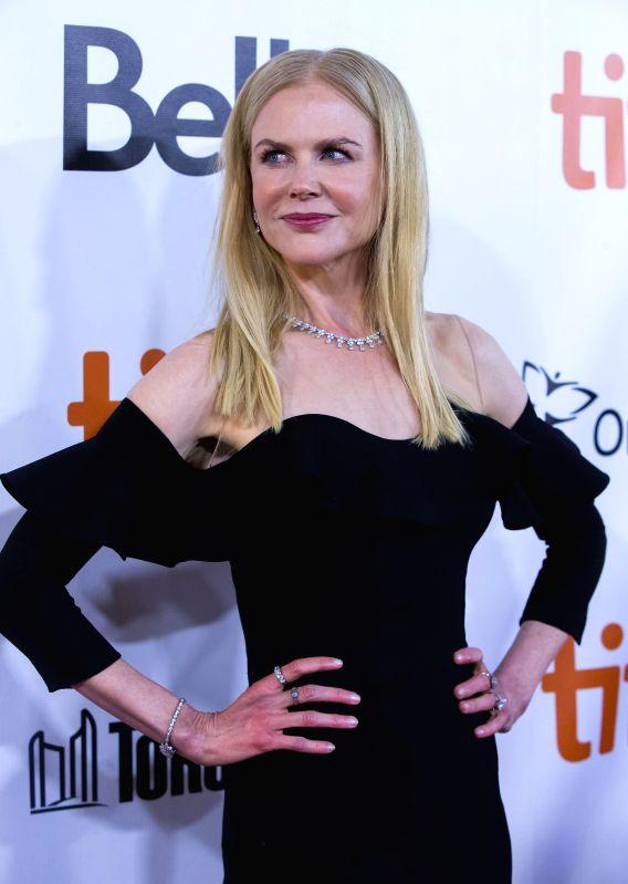 "TORONTO, Sept. 9, 2017 - Actress Nicole Kidman attends the world premiere of the film ""The Upside"" during the 2017 Toronto International Film Festival in Toronto, Canada, Sept. 8, 2017. - Nicole Kidman"