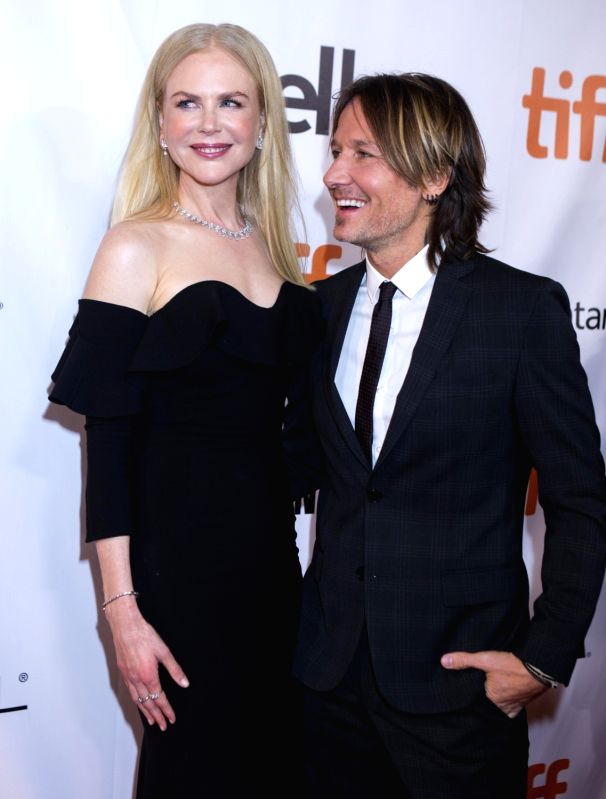 """TORONTO, Sept. 9, 2017 - Actress Nicole Kidman (L) and her husband Keith Urban attend the world premiere of the film """"The Upside"""" during the 2017 Toronto International Film Festival in ... - Nicole Kidman"""