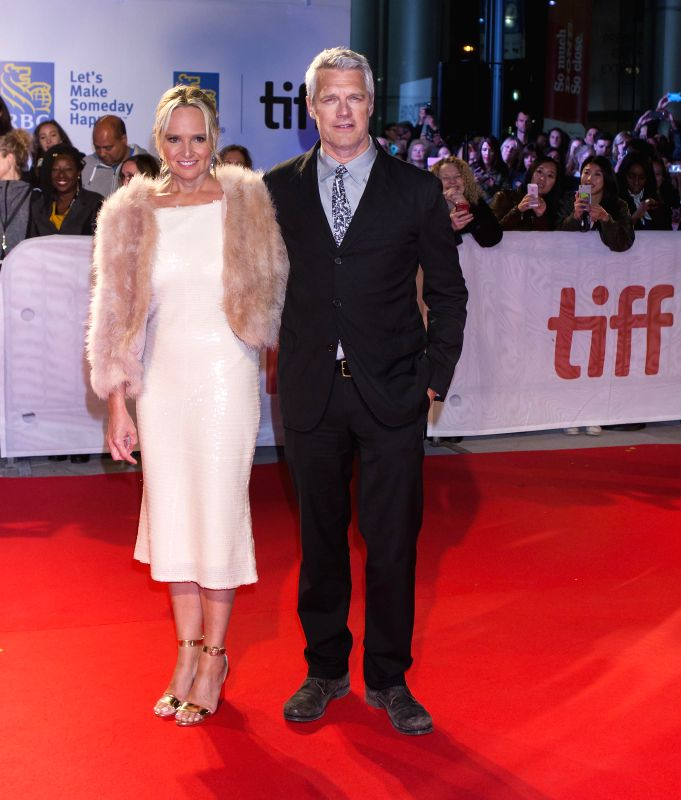 """TORONTO, Sept. 9, 2017 - Director Neil Burger (R) attends the world premiere of the film """"The Upside"""" during the 2017 Toronto International Film Festival in Toronto, Canada, Sept. 8, 2017."""