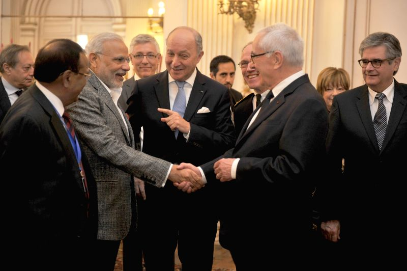 Prime Minister Narendra Modi visits the Prefecture, in Toulouse, France on April 11, 2015. - Narendra Modi