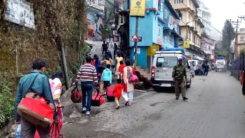 Tourists start arriving in Darjeeling on May 15, 2016.