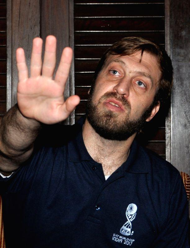 Tournament Director of FIFA U-17 World Cup, Javier Ceppi. (File Photo: IANS)