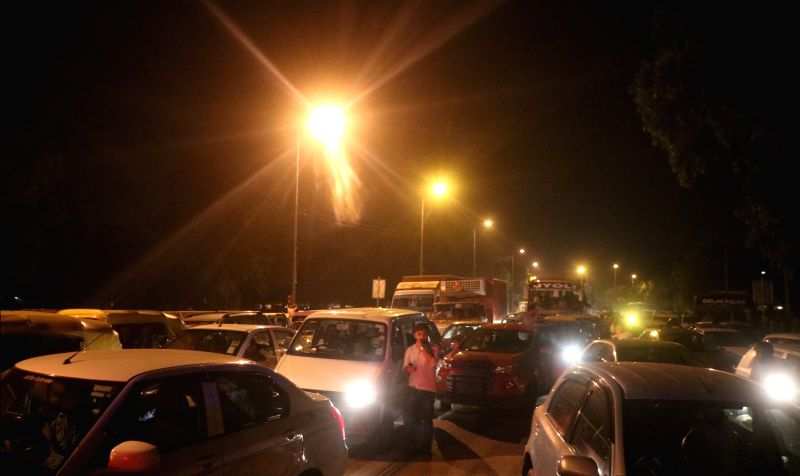 Traffic stalled near India Gate due to a candlelight vigil called by Congress President Rahul Gandhi to protest against incidents of rape in Unnao (Uttar Pradesh) and Kathua (Jammu and ... - Rahul Gandhi