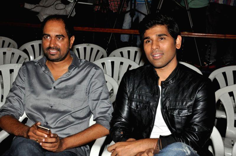Trailar launch of Telugu film Srirastu Subhamastu in Hyderabad on July 26, 2016.
