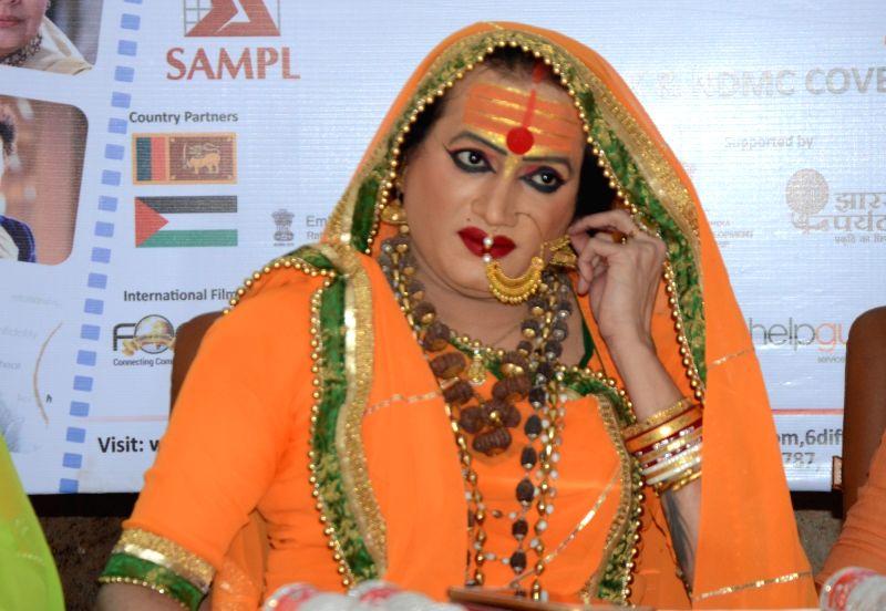Laxmi Narayana Tripathi's press conference - Laxmi Narayana Tripathi