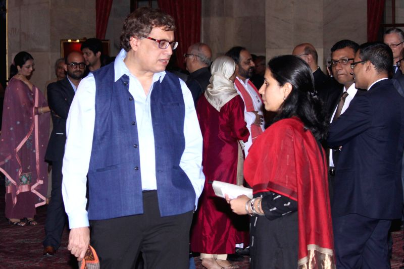 Trinamool MP Derek O'Brien during an Iftaar party hosted by President Pranab Mukherjee at Rashtrapati Bhawan in New Delhi, on July 15, 2015. - Pranab Mukherjee