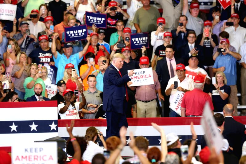 Trump to hold outdoor rally on Saturday