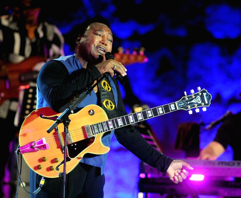 US guitarist, singer and jazz composer George Benson performs during the 50th session of the Carthage International Festival in Tunis, Tunisia, on July 16, 2014. ...