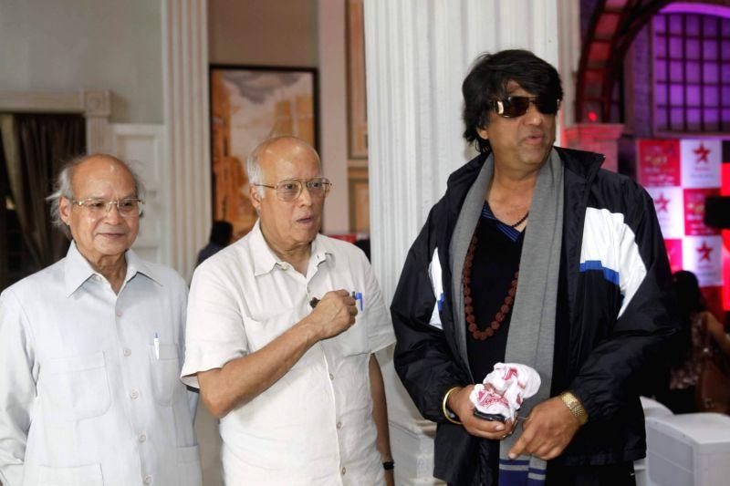 TV actor Mukesh Khanna at the launch of Sooraj Barjatya`s new serial ` Pyar Ka Dard Hai Meetha Meetha Pyaara Pyaara` on Star Plus. - Mukesh Khanna
