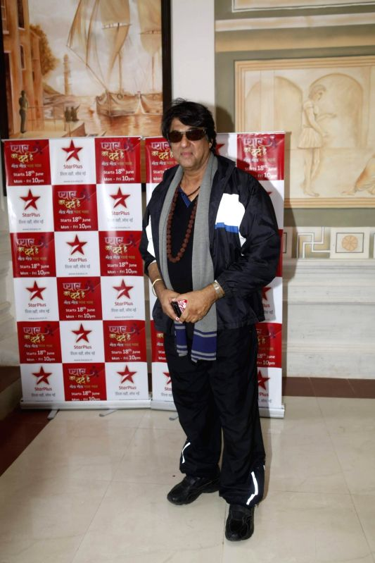 TV actor Mukesh Khanna at the launch of Sooraj Barjatya`s new serial ` Pyar Ka Dard Hai Meetha Meetha Pyaara Pyaara` on Star Plus. - Mukesh Khanna