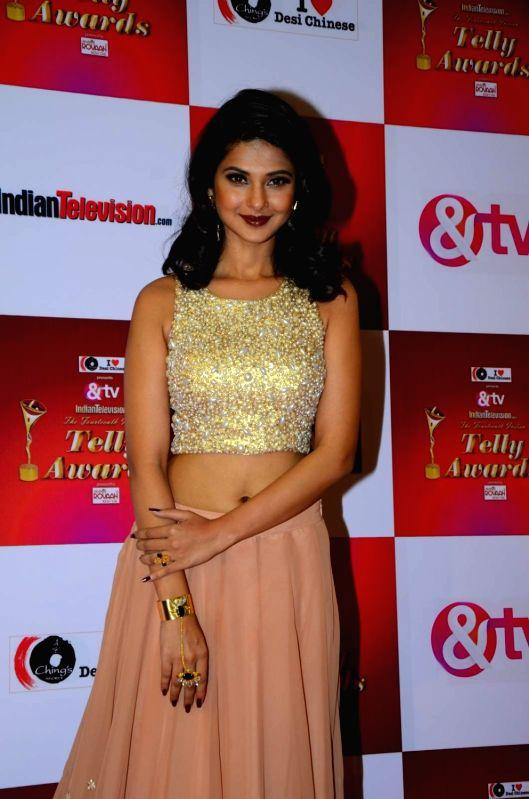 Mumbai tv actress jennifer winget during the 14th indian telly awards