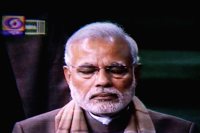 TV GRAB: Prime Minister Narendra Modi addresses at the Lok Sabha in New Delhi on Dec 4, 2014. - Narendra Modi