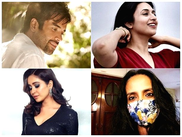 TV stars on freedom in the time of lockdown and social distancing.