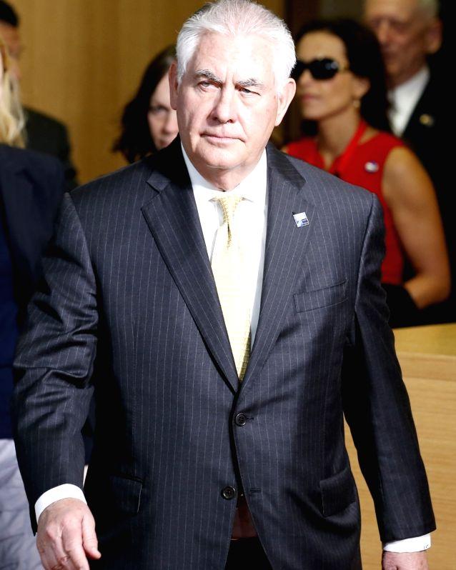 U.S. Secretary of State Rex Tillerson. (File Photo: IANS)