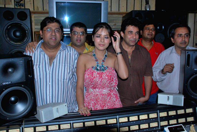 Udita Goswami At Deepak Tijori's Fox Film Song Recording